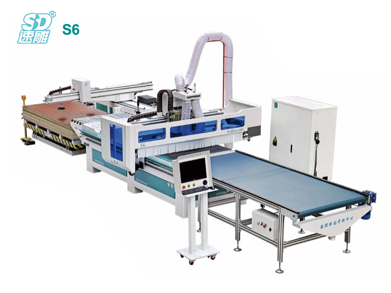 CNC Row Drilling and Cutting Center S6